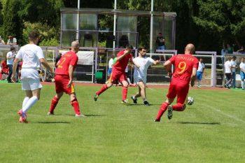 Detalj sa utakmice odigrane u Temišvaru FOTO: Privatna arhiva