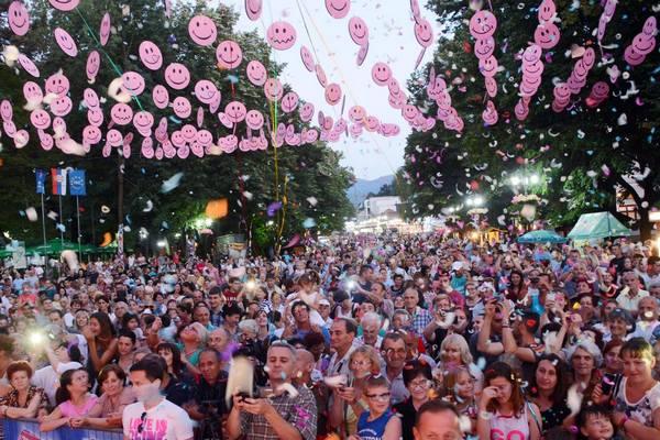 Bijelo dugme i Plavi orkestar na Vrnjačkom karnevalu