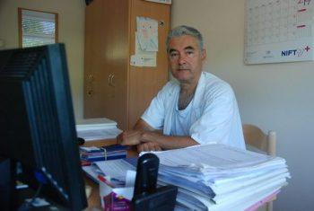 Dr Blagoje Milovanović, načelnik Ginekološko-akušerskog odeljenja kruševačke Bolnice FOTO: CINK