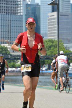 Danilo na Iron Man triatlonu u Frankfurtu