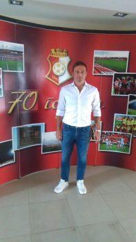 Nenad Sakić tvrdi da će Napredak u narednoj sezoni igrati napadački fudbal FOTO: CINK - S.Milenković