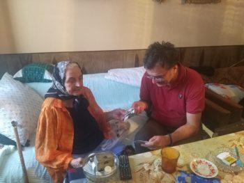 Baka Živana Ružić je među najstarijim korisnicama usluga gerontodomaćica