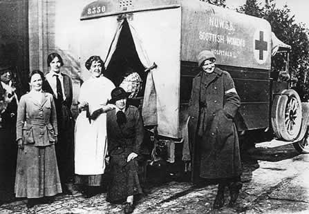 bolnica skotskih zena 1915