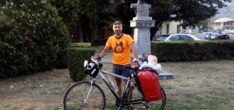 """Avantura Kruševljanina Miloša Milanovića: Biciklom preko Crne Gore i Albanije stigao do Istanbula da bodri """"orlove"""""""