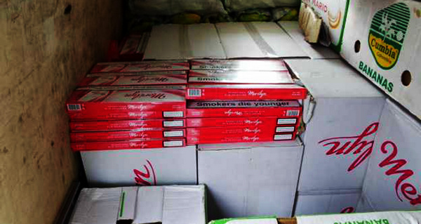 UHAPŠEN ŠVERCER: Zaplenjeno više od 1.000 paklica cigareta