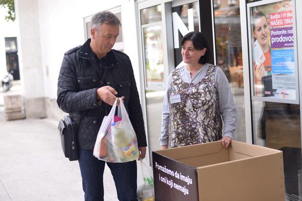 Prikupljanje hrane za najsiromašnije građane