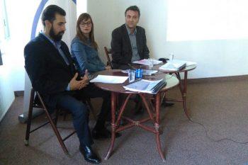 Predstavljanje rezultata o istraživanju strateškog planiranja u Rasinskom okrugu FOTO: CINK - S.Milenković