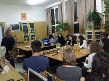 Borivoje Đorđević je upoznao učenike Ekonomske škole sa lepotama džeza