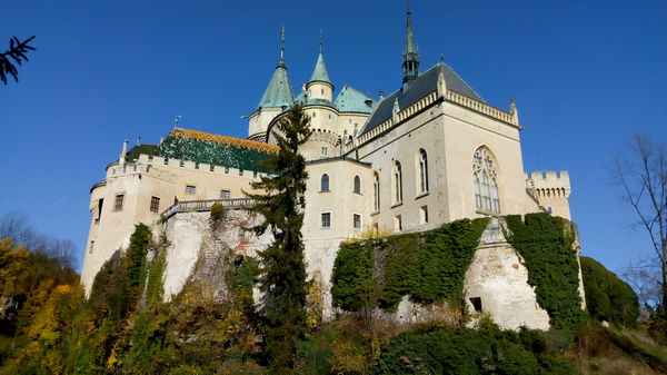Predivni sredjovekovni zamak u mestu Bojince FOTO: N.Krstić