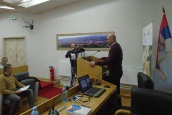 Aleksandar Ćirić, predsednik Opštine Trstenik