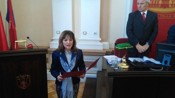 Jasmina Palurović nova gradonačelnica Kruševca