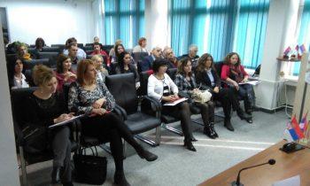Prezentacija projekta razvoja socijalnog preduzetništva u Kruševcu privukla je veliku pažnju FOTO: CINK - S.Milenković