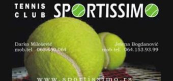 Prvenstvo najmlađih tenisera u Kruševcu