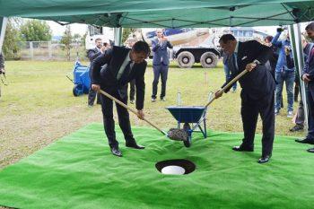 Kamen temeljac za izgradnju bioenergane postavljen je 14. oktobra 2015. godine