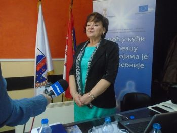 Sretina Dobrodolac, menadžerka projekta koji se realizuje u Ćićevcu
