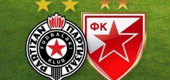 U nedelju utakmica navijača Crvene zvezde i Partizana u Parunovcu