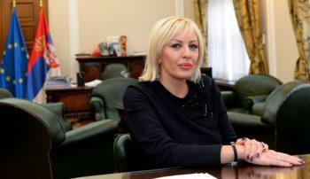 Jadranka Joksimović veruje da su evrointegracije sredstvo za bolji život građana FOTO: Tanja Valič