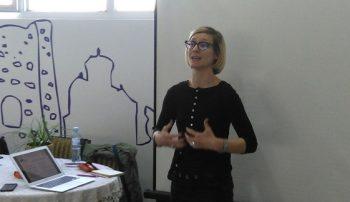 Dina Rakin smatra da je pre donošenja Zakona o socijalnom preduzetništvu potrebno doneti Strategiju socijalnog preduzetništva FOTO: CINK - S.Milenković