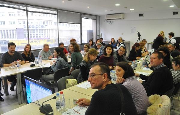 """Evropski pokret u Srbiji organizovao drugu obuku za novinare u okviru projekta """"Evropa za mene"""""""