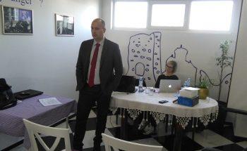 Vladimir Međak je govorio o procesu pridruživanja Srbije Evropskoj uniji FOTO: CINK - S.Milenković