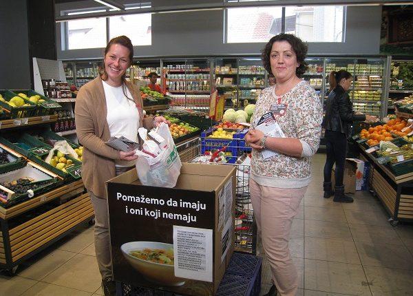 Prikupljeno više od sedam tona hrane za najsiromašnije