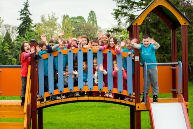 Rekonstruisano dečje igralište u Pionirskom parku
