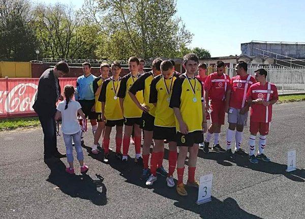 Treće mesto za fudbalere Palestre