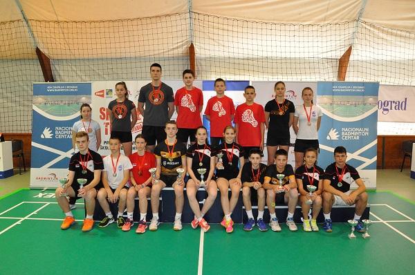 Prvenstvo Srbije za juniore_badminton