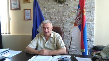 Vojkan Pavić, predsednik Opštine Varvarin FOTO: CINK - S. Milenković