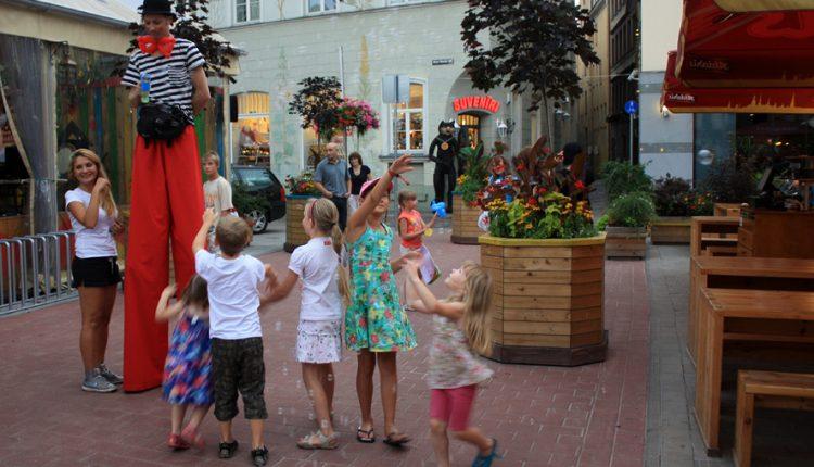 Žurka u centru grada