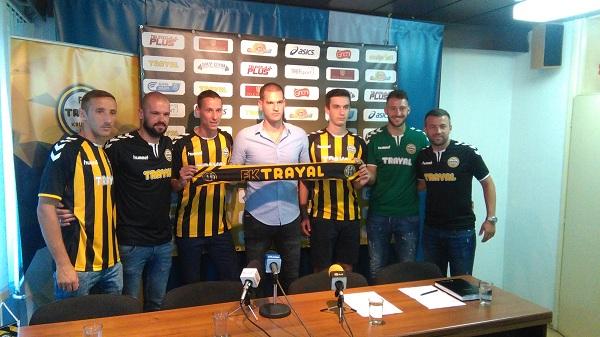 FK Trajal predstavio novajlije