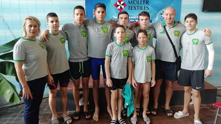 Plivačima Napretka dvadeset medalja u Slovačkoj