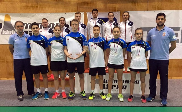 Pet medalja u Sloveniji