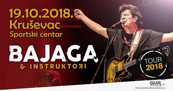 Bajagin koncert u Kruševcu