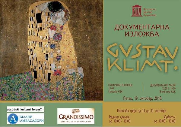 Izložba i projekcije filma o životu Gustava Klimta