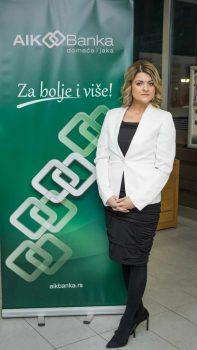 Sanja Jovanović, direktor filijale Kruševac