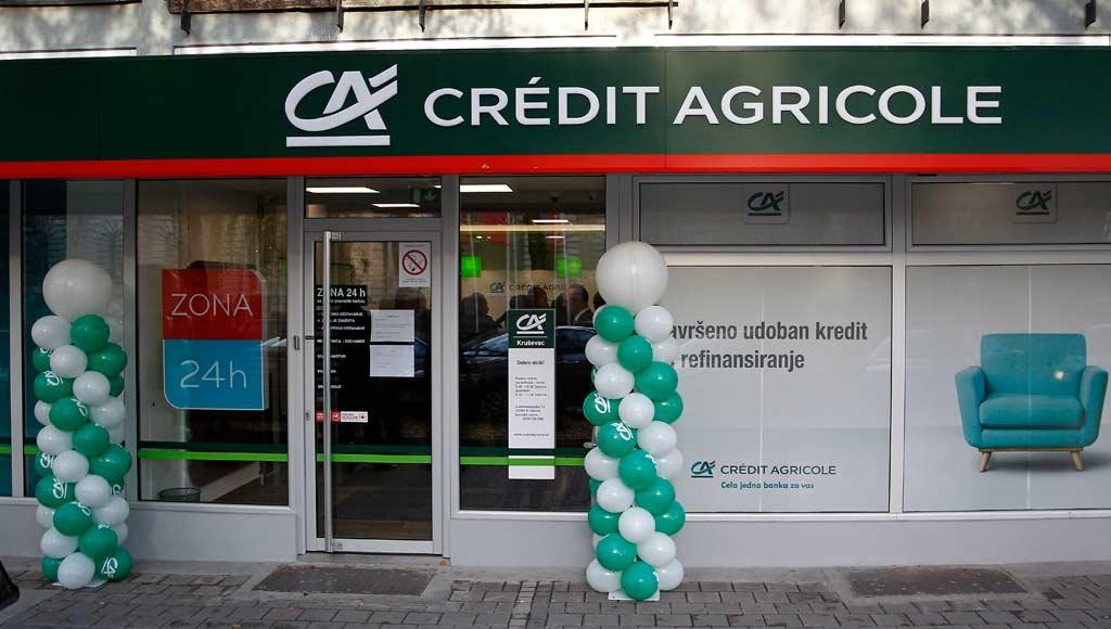 Nova filijala Crédit Agricole banke u Kruševcu