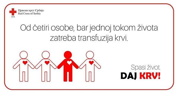 NA DAN LJUDSKE SOLIDARNOSTI: Akcija dobrovoljnog davanja krvi