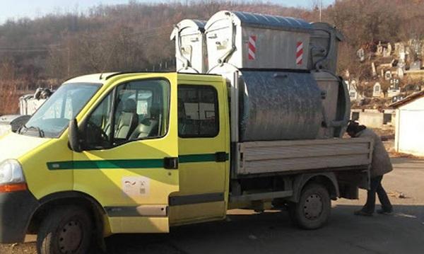 EKOLOŠKA AKCIJA U GORNJEM TEMNIĆU: Kontejneri za otpad postavljeni u devet sela