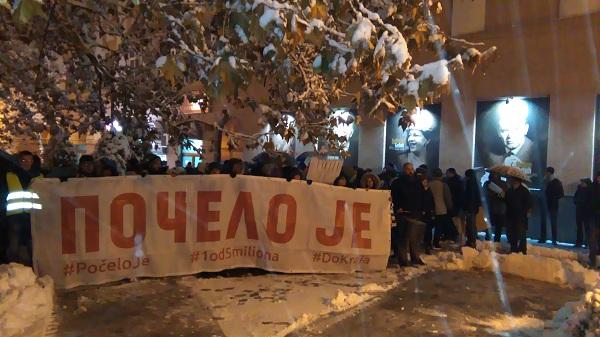 """""""1 od 5 MILIONA"""" U KRUŠEVCU"""": """"Ko ne bojkotuje izbore nije opozcija!"""""""