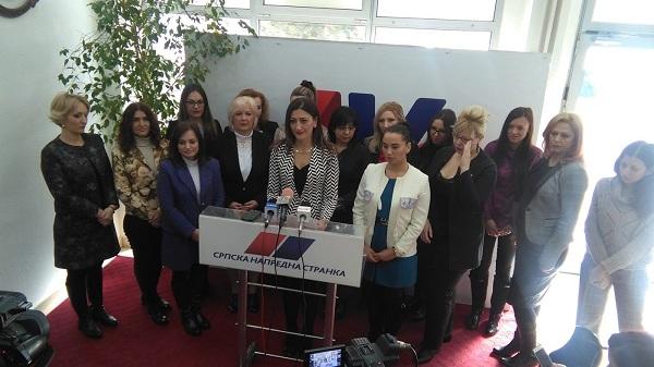 """UNIJA ŽENA SNS: """"Lideri Saveza za Srbiju promovišu nasilje nad ženama!"""""""