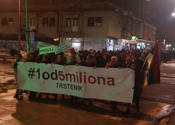 SAVEZ ZA SRBIJU ZAHTEVA: Odlazak režima ili veliki protest u Beogradu 13. aprila