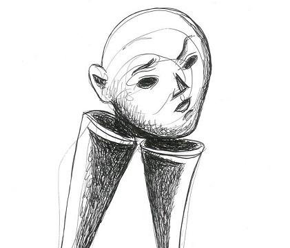 IZLOŽBA KRUŠEVAČKOG UMETNIKA: Crteži Jovana Marinkovića u Srećnoj galeriji