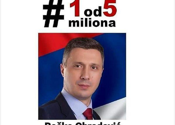 """""""1 OD 5 MILIONA"""": Boško Obradović večeras u Trsteniku"""