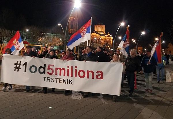 """""""1 OD 5 MILIONA"""": Nastavljaju se protesti…"""