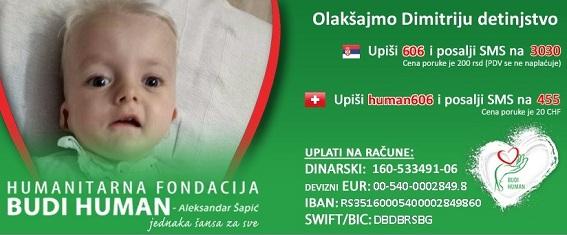 """U AKC """"GNEZDO"""": Humanitarno druženje za pomoć malom Dimitriju!"""