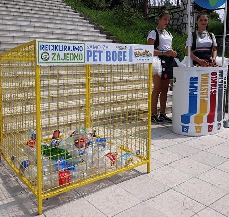 EKOLOŠKA AKCIJA: 30 kontejnera za prikupljanje PET ambalaže
