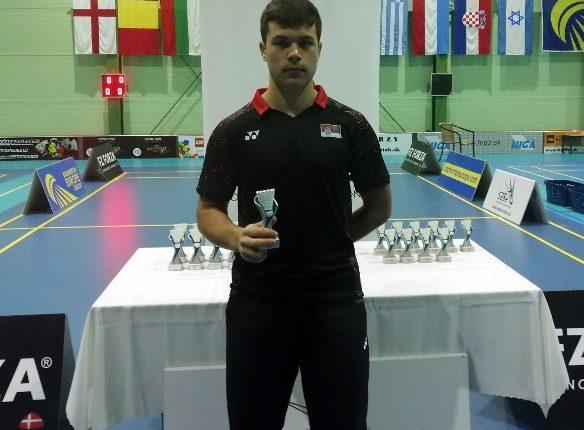 NA TURNIRU U SLOVAČKOJ: Bronzana medalja za Sergeja Lukića