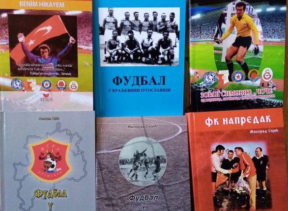 NOVA KNJIGA MILORADA SIJIĆA: Monografija o Fudbalskom klubu Napredak