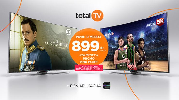 SBB kompanija predstavila Total TV akciju